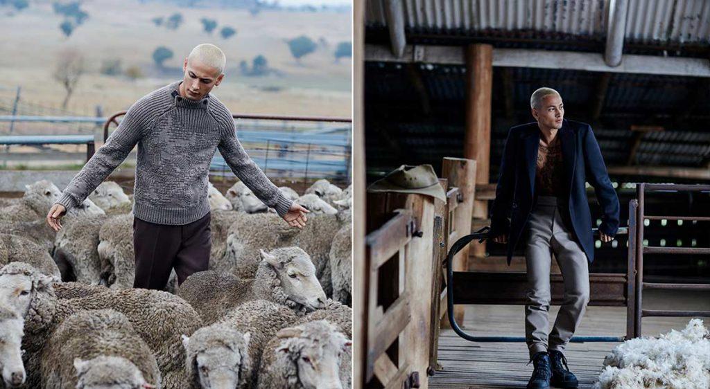 Ermenegildo Zegna Achill Wool Farm