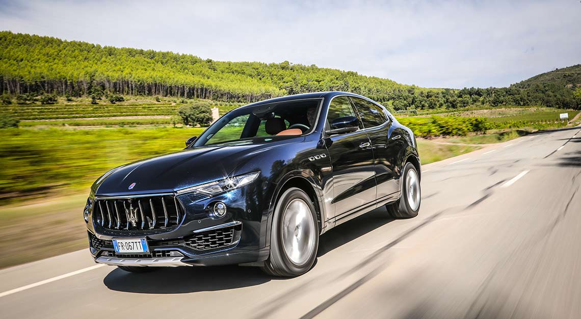 Maserati Levante S, Robb Report Ultimate Drives 2018