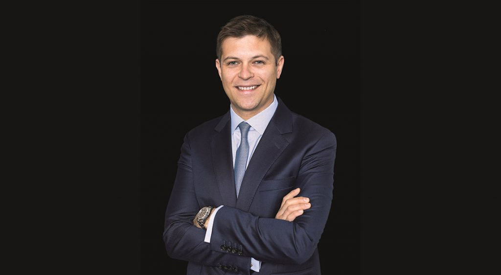 Sam Hines, worldwide head of Sotheby's watch division