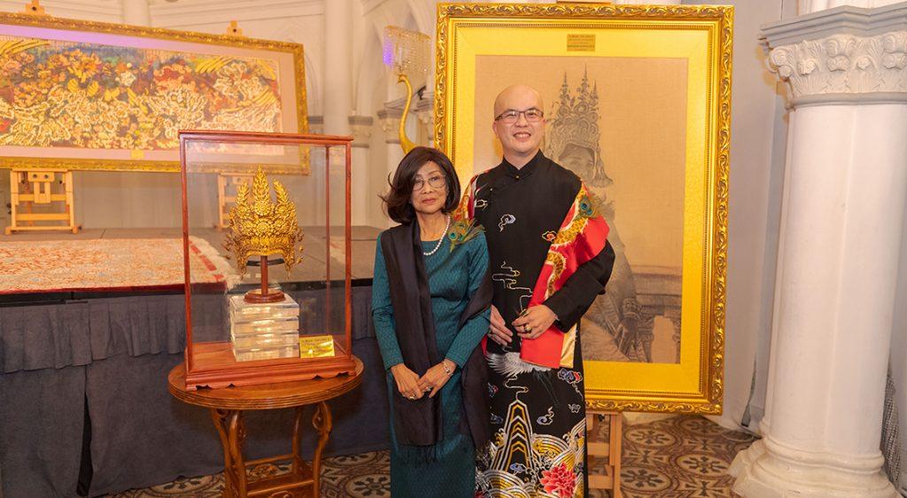 Yun Long Zi and Princess Norodom