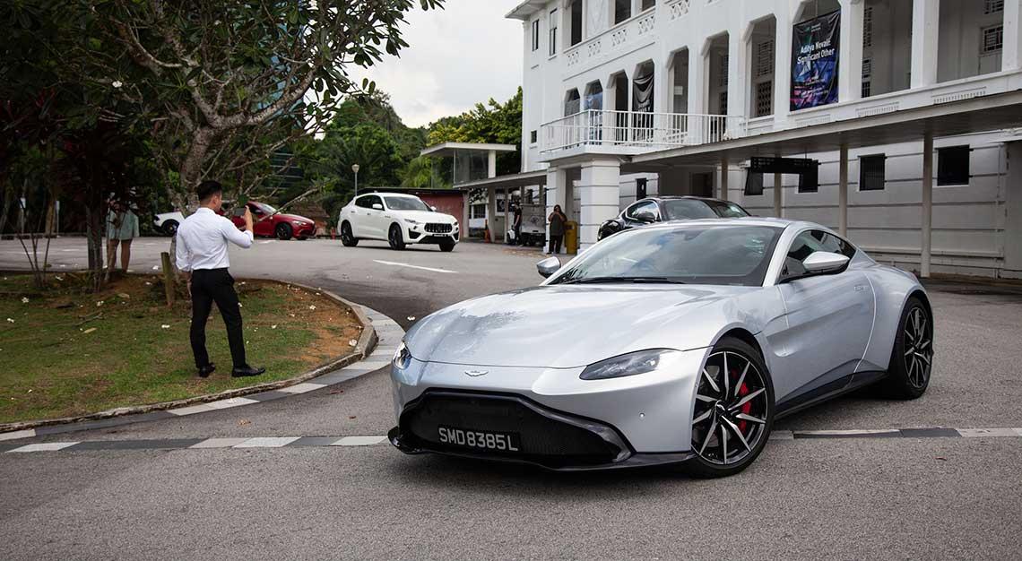 Aston Martin Vantage, Robb Report Ultimate Drives 2018