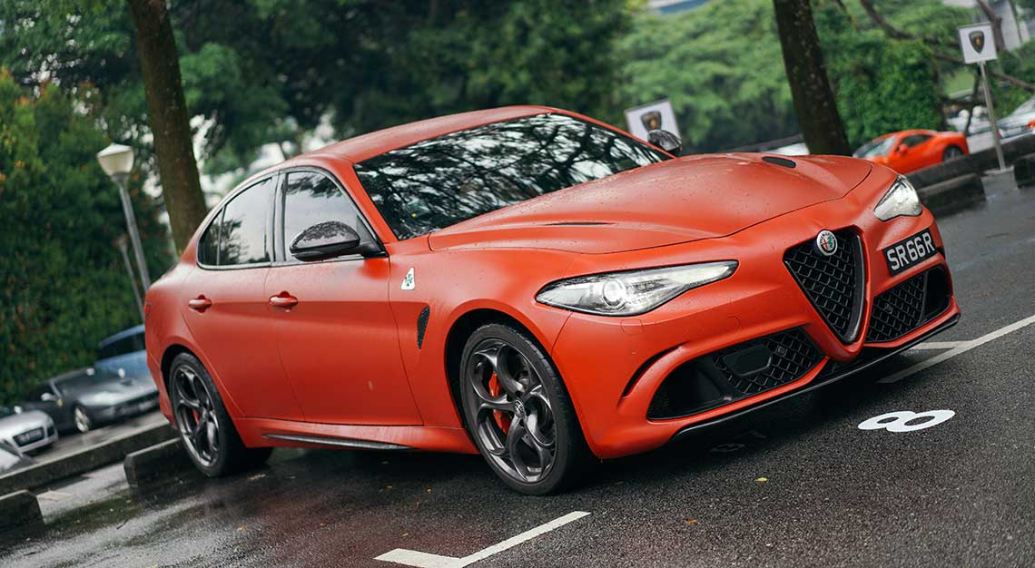Alfa Romeo Giulia Quadrifoglio, Robb Report Ultimate Drives 2018