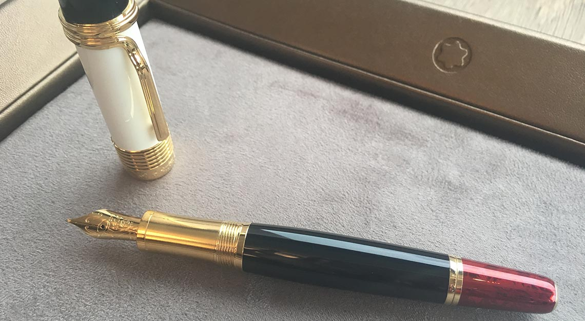 Luciano Pavarotti Limited Edition 4810 Fountain Pen ($3800)
