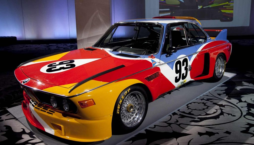 BMW Art Car, Alexander Calder, BMW 3.0 CSL, 1975