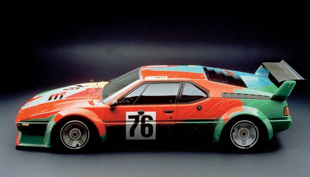 BMW Art Car, Andy Warhol BMW M1, 1979