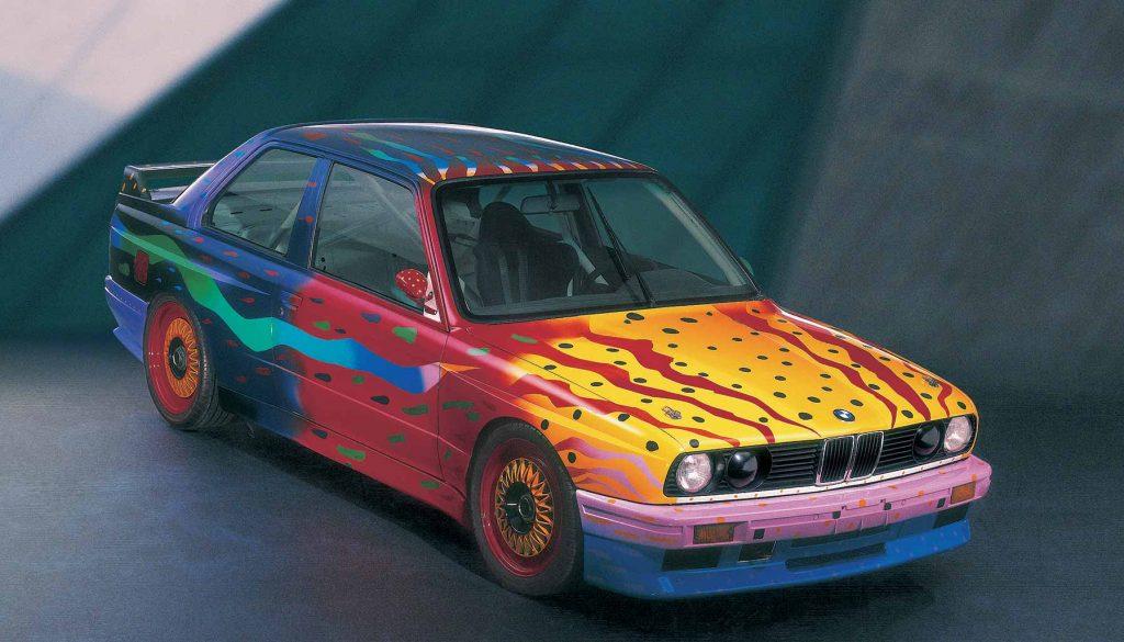 BMW Art Car, Michael Jagamara Nelson and Ken Done BMW M3, 1989