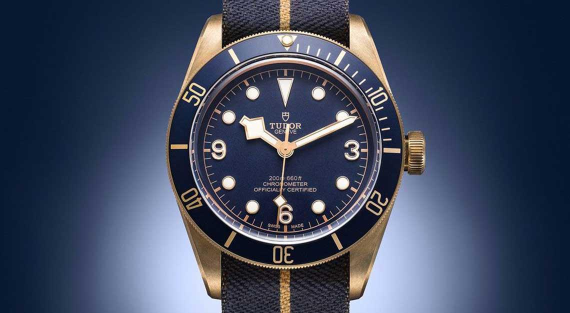 Tudor Black Bay Bronze Blue