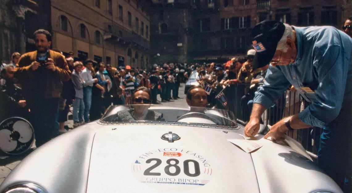 Jacky Ickx, Italian Mille Miglia