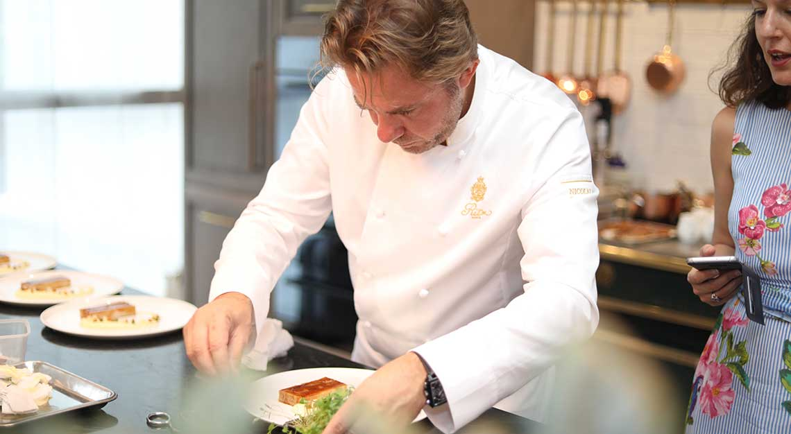 Chef Nicolas Sale