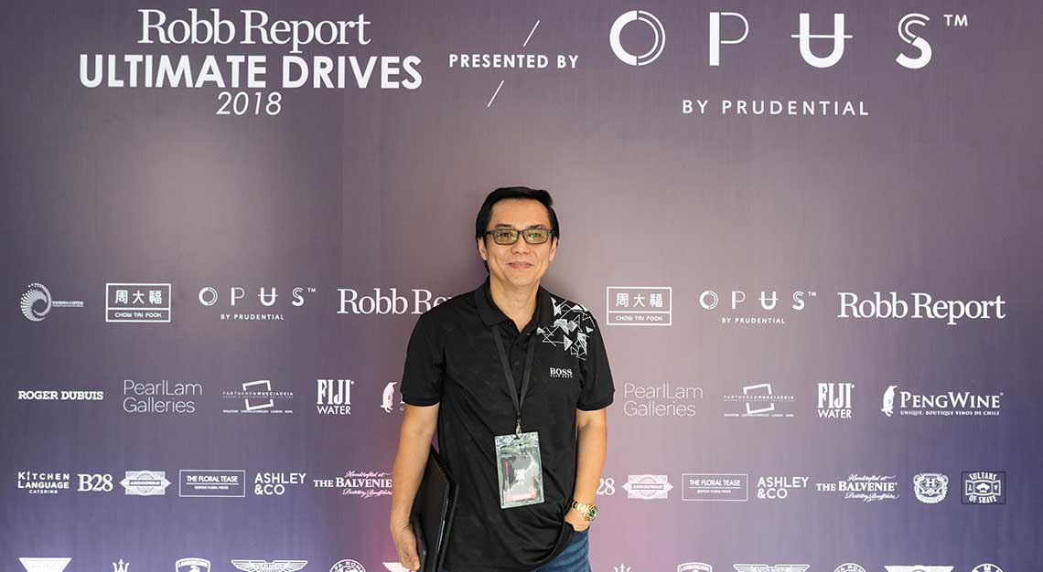 Dave Ang, Robb Report Ultimate Drives 2018