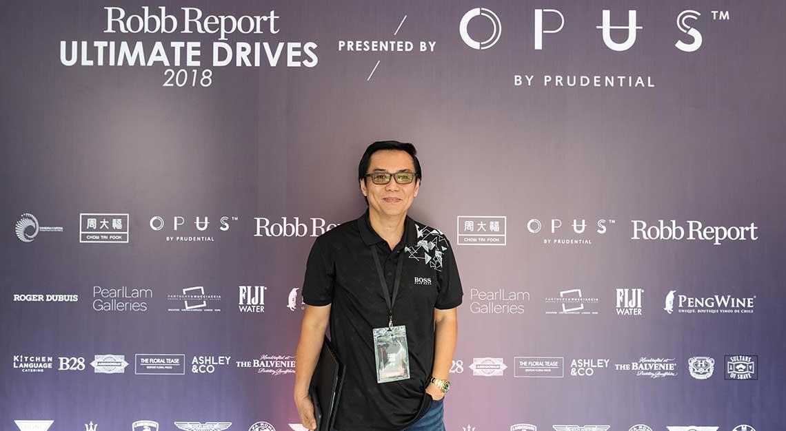 Dave Ang, Robb Report Ultimate Drives 2018