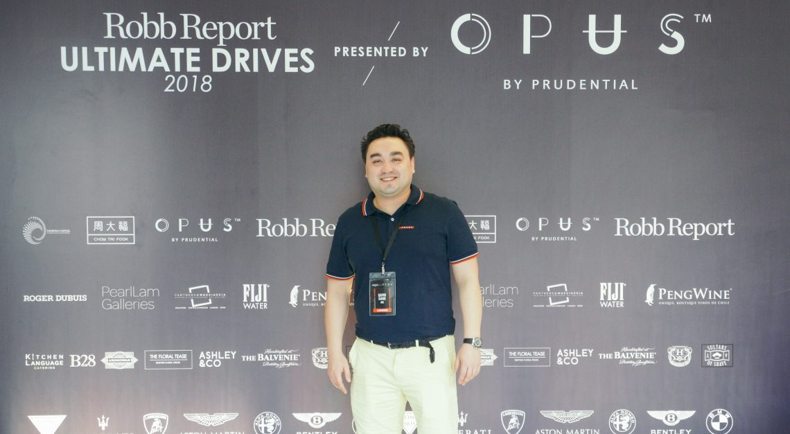 Gavin Sung, Robb Report Ultimate Drives 2018