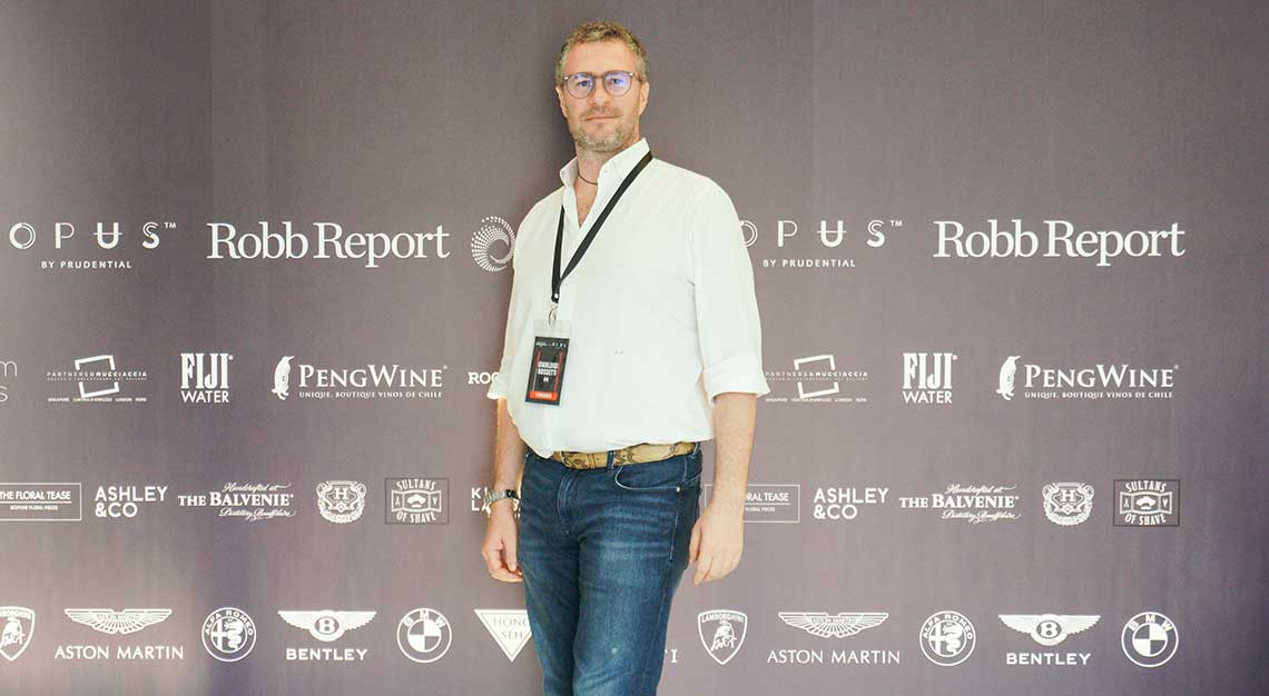 Gianluigi Rossetti, Robb Report Ultimate Drives 2018