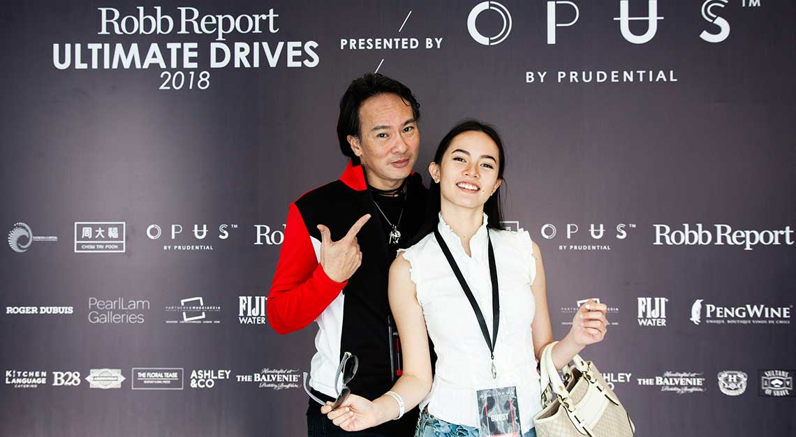 Henry Mok and Ariel Mok, Robb Report Ultimate Drives 2018