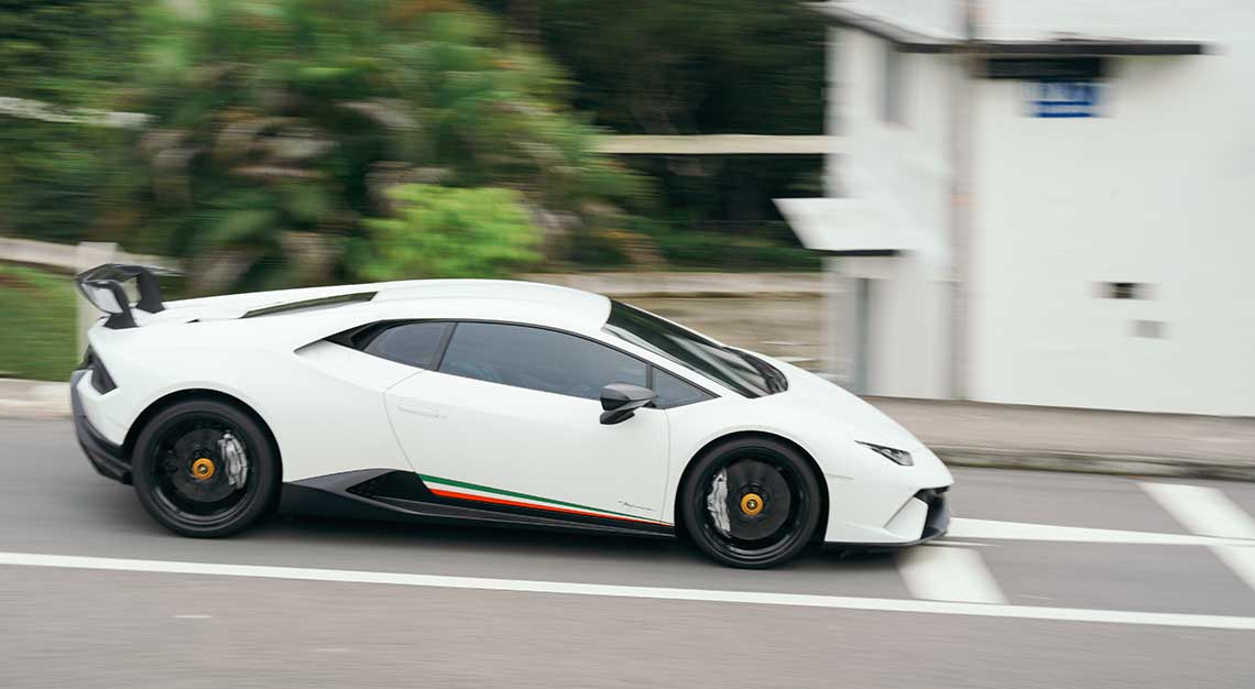Lamborghini Huracan Performante, Robb Report Ultimate Drives 2018