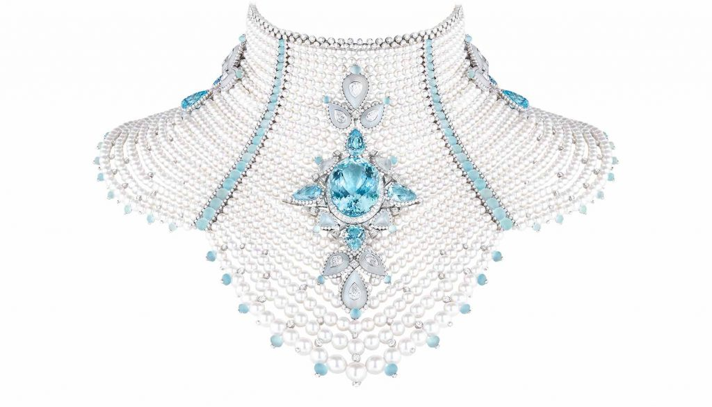Baikal bodice necklace, Boucheron