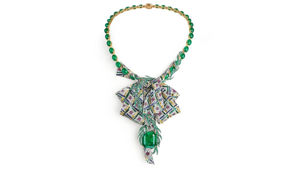 Pastoral Anglaise necklace, Chaumet
