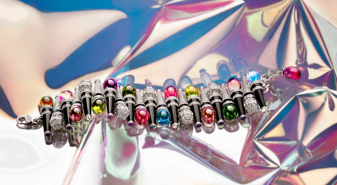 High jewellery, Bulgari Wild Pop