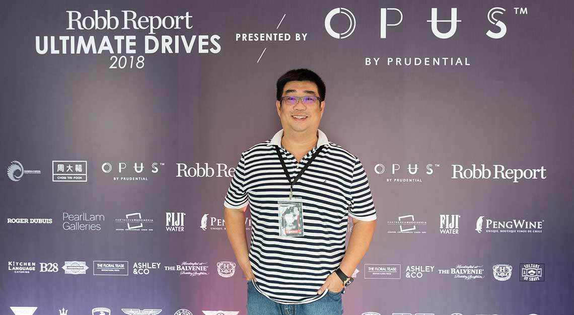 Richard Koh, Robb Report Ultimate Drives 2018