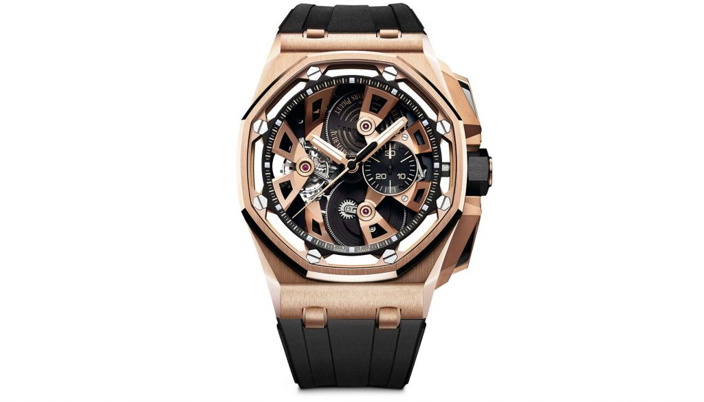 SIHH 2018, Royal Oak Offshore Tourbillon Chronograph, Audemars Piguet