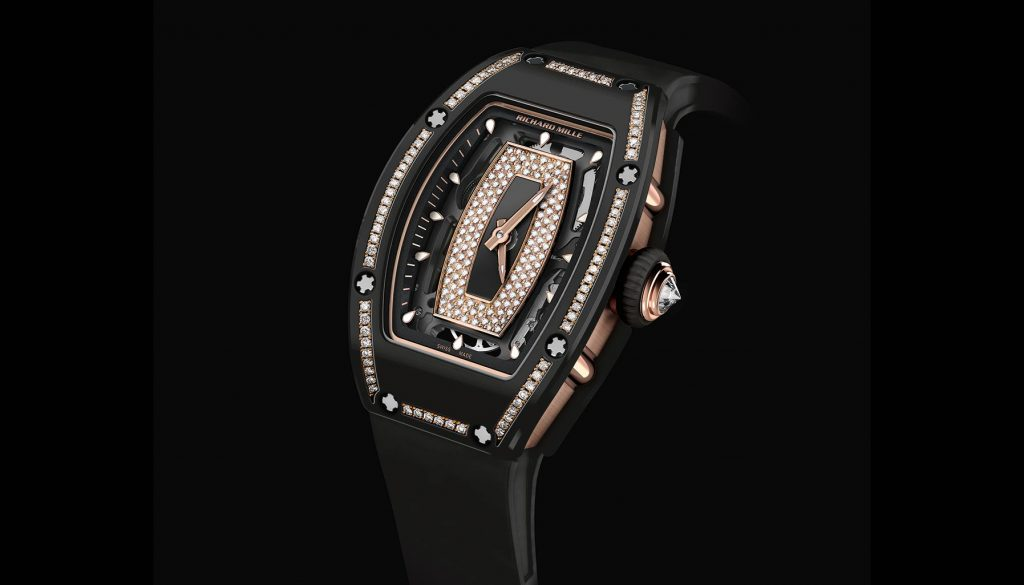 SIHH 2018, RM 07-01 Gem-Set Black Ceramic, Richard Mille