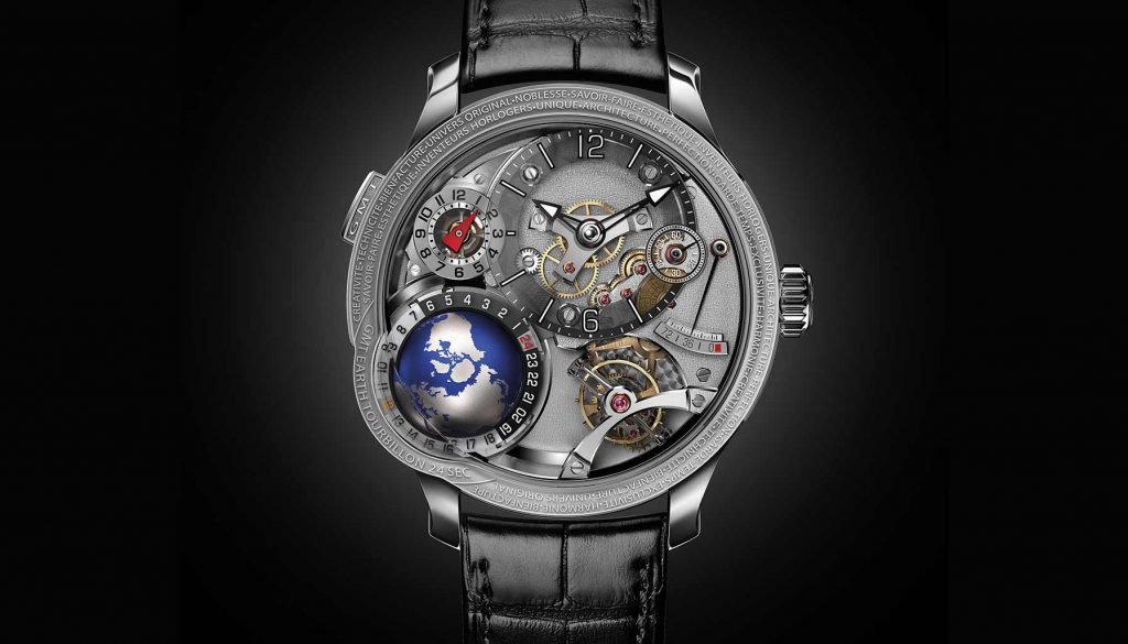 GMT Earth, Greubel Forsey