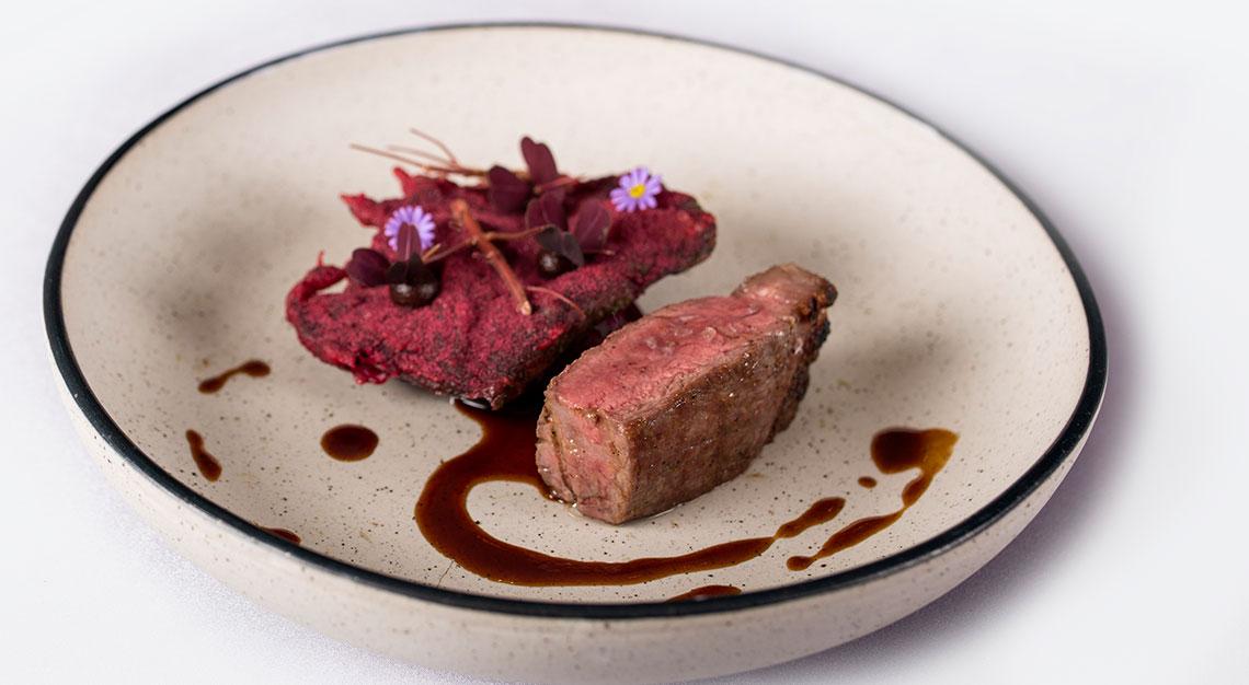 Ohmi beef at Alma by Juan Amador