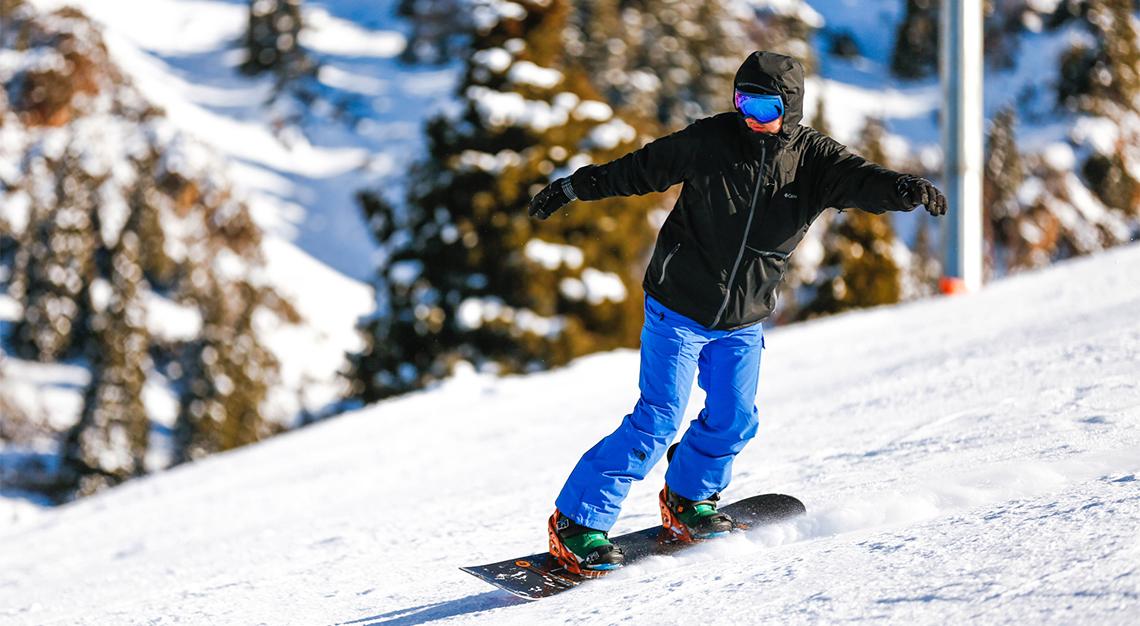 skiing in Kazakhstan
