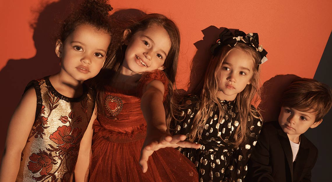 Net-A-Porter, Dolce&Gabbana kidswear