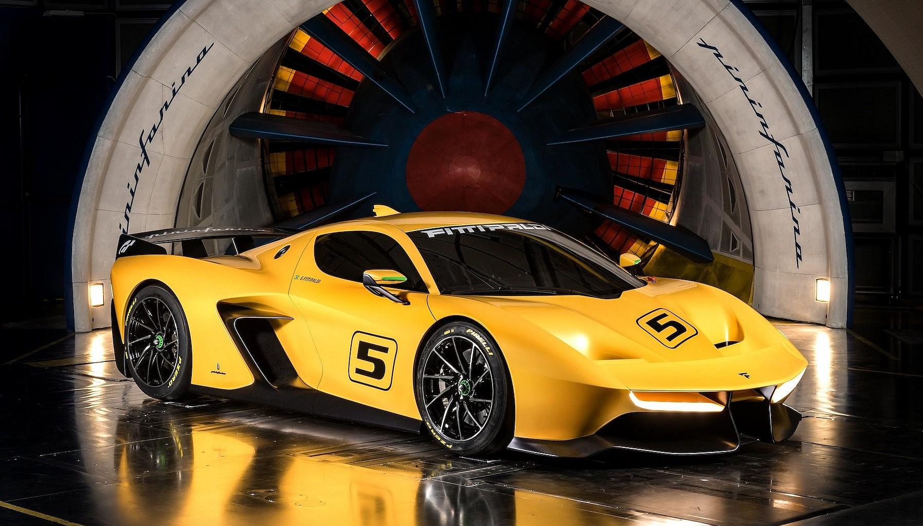 Fittipaldi EF7 Vision Gran Turismo, Pininfarina