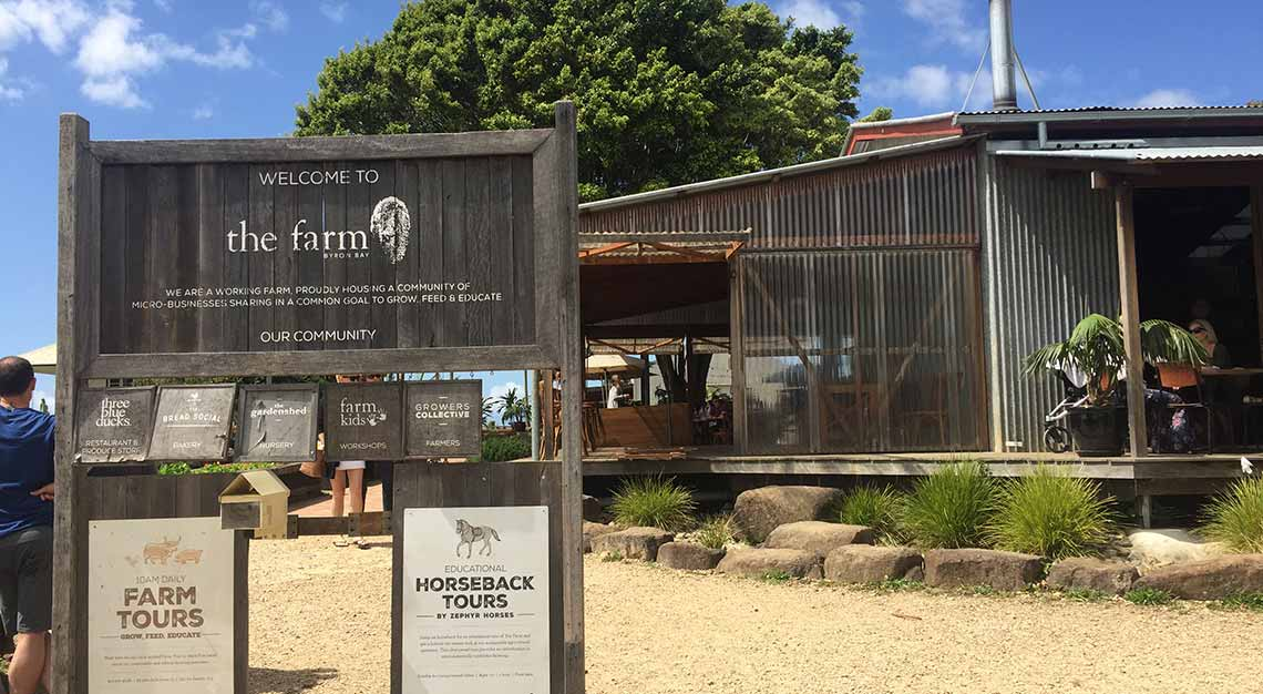 The Farm Byron Bay, Brisbane