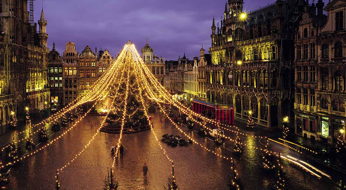 Christmas markets in Europe, Brussels, Belgium