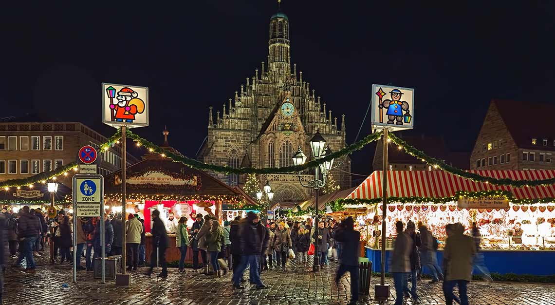 Christmas markets in Europe, Nuremberg, Germany