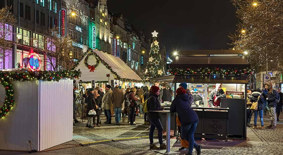 Christmas markets in Europe, Prague, Czech Republic