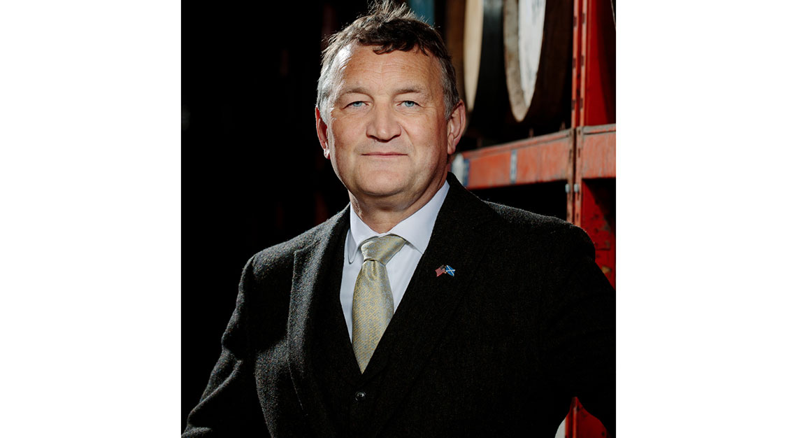 Martin McAdam, CEO of Ardgowan Distillery