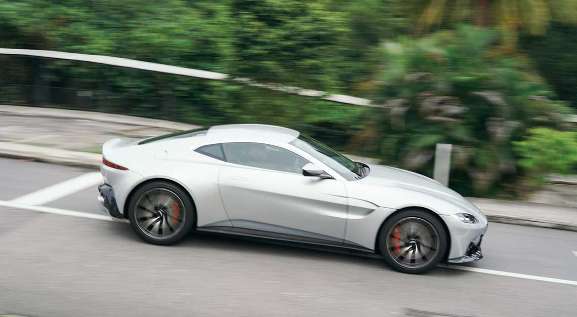 Aston Martin Vantage, Robb Report Ultimate Drives 2018