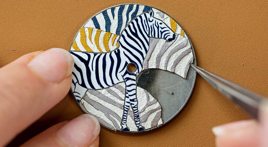Slim d'Hermes Les Zebres de Tanzanie