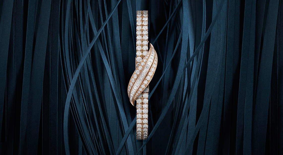 Timepieces for women, Jaeger-LeCoultre Joaillerie 101 Feuille