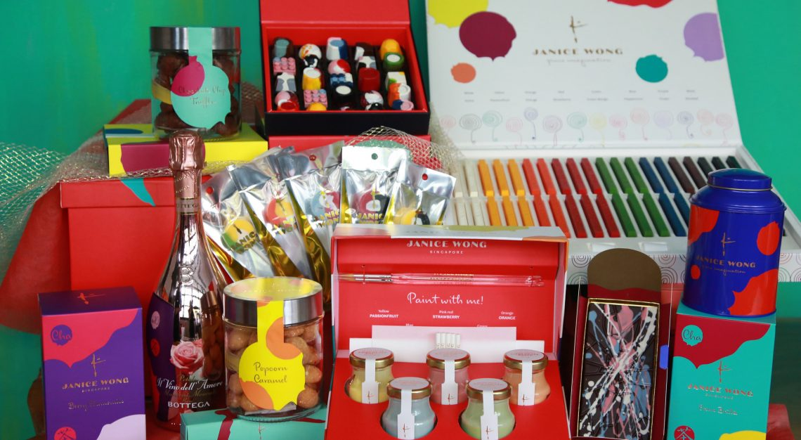 Janice Wong, Christmas gifts, holiday hamper