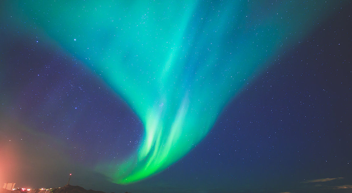 northern lights Denmark