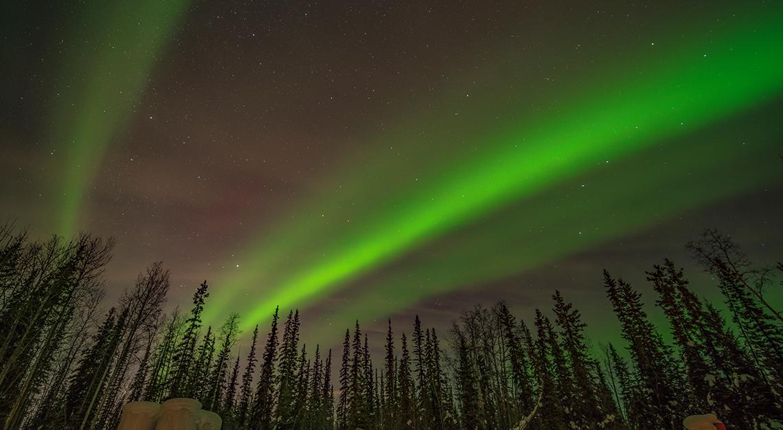 northern lights USA