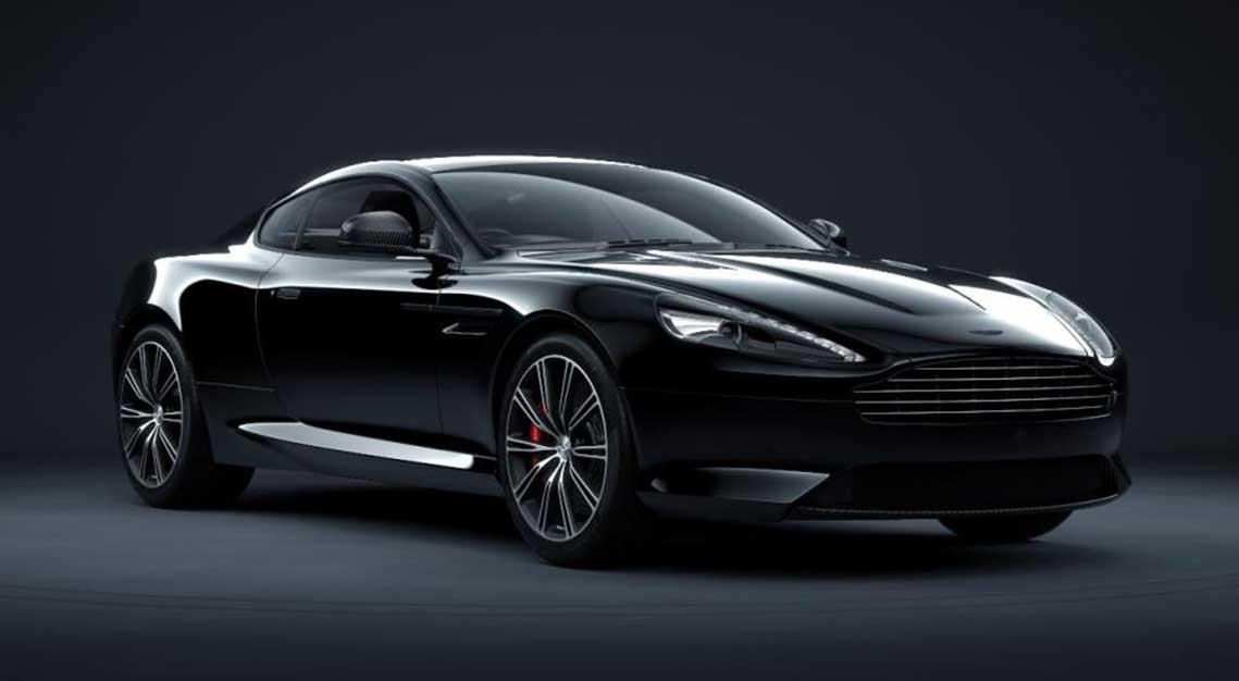Aston Martin DB9 Carbon Black