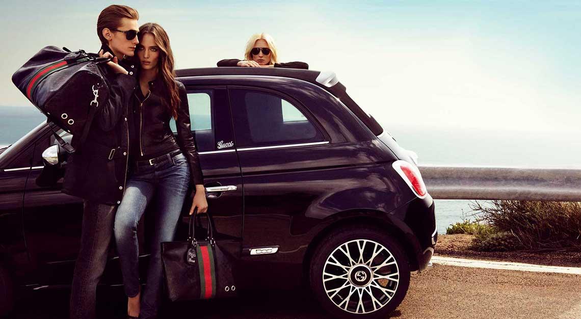 Fiat 500 X Gucci