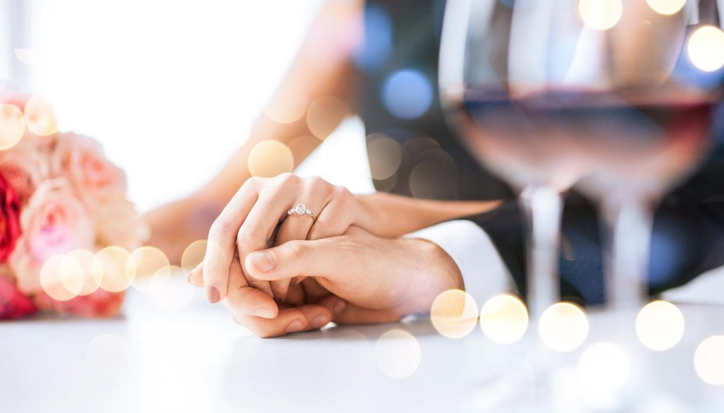 Restaurants in Singapore to pop the question