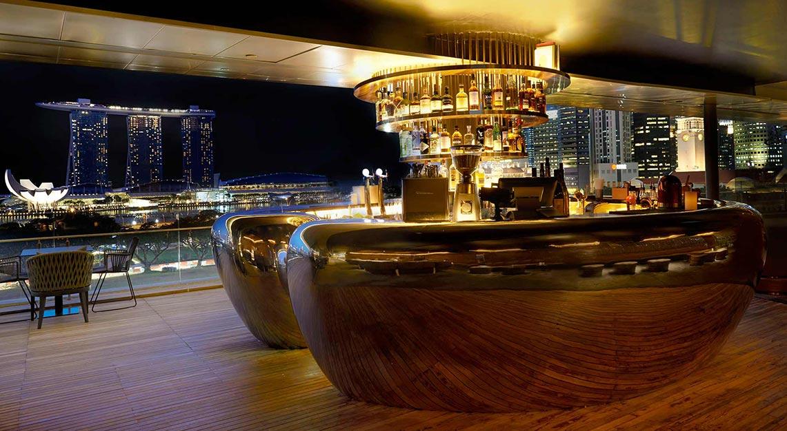 Smoke & Mirrors Singapore cocktails