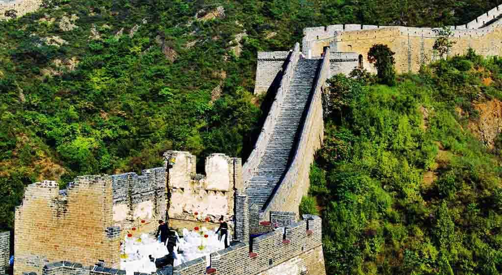 Great Wall of China dining