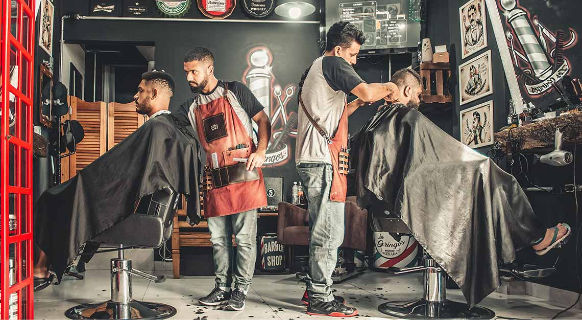 Men's grooming salons in Singapore
