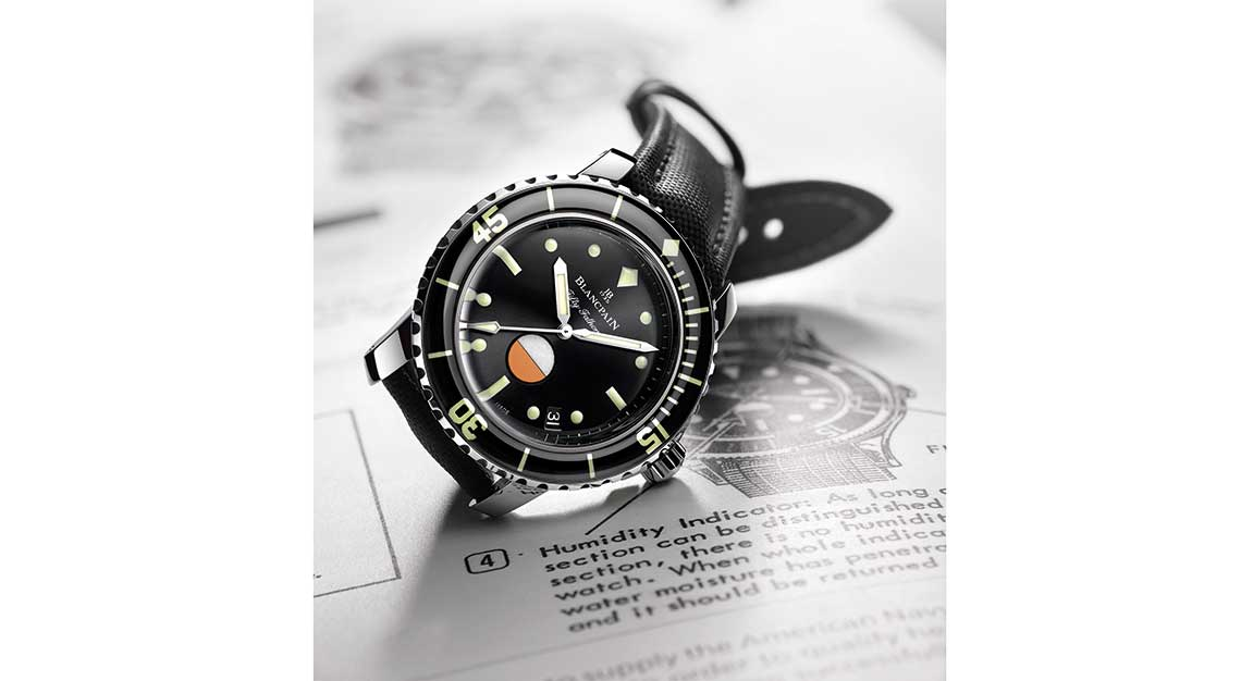 Blancpain - 2017 Tribute to Fifty Fathoms Mil Spec