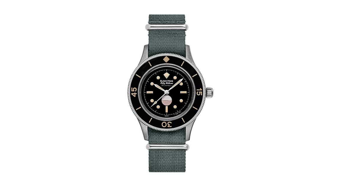 Blancpain - Vintage Fifty Fathoms diving watch