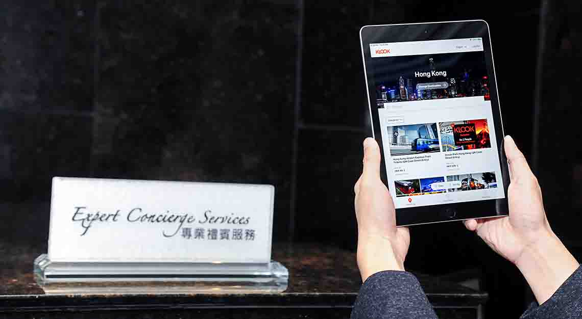 Klook Concierge service